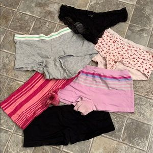 Other - 5/$15 - 6 pairs panties size small